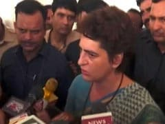 """I Won't Leave..."" Says Priyanka Gandhi, Spends Night In UP's Mirzapur"