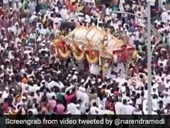 "PM Modi Explains Maharashtra Town's ""Special Link"" With Ashadhi Ekadashi"