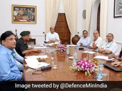 Defence Minister Rajnath Singh Reviews Establishment Of Rifle Factory