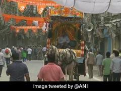 हौज काजी के दुर्गा मंदिर में प्राण प्रतिष्ठा आज, सुरक्षा के लिए लगाए  3 हजार जवान