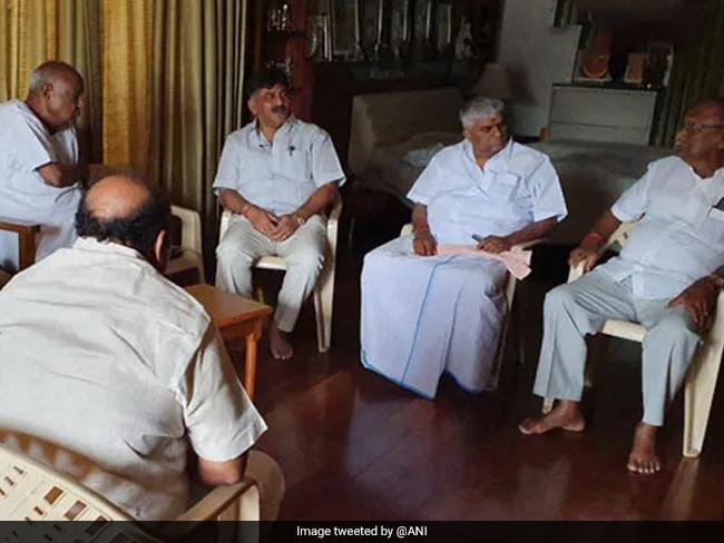 HD Kumaraswamy Back, Karnataka Ruling Coalition Holds Meeting: 10 Points