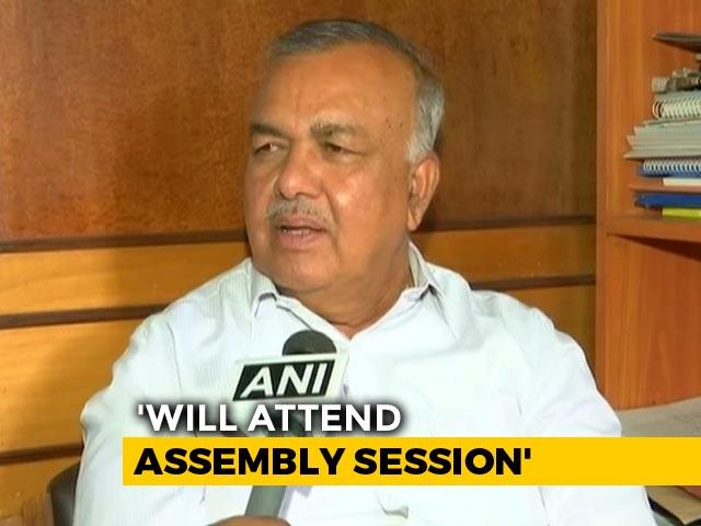 Video : Ahead Of Trust Vote, Karnataka Rebel Says Will Withdraw Resignation