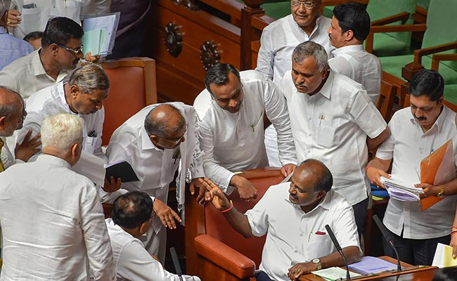 'Party Members Stood Like A Rock,' BS Yeddyurappa Writes To Amit Shah: Live Updates