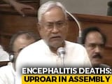 "Video : Deaths of 160 Children Was ""Extremely Unfortunate"": Nitish Kumar"