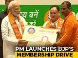 Video : PM Launches BJP's Membership Drive From Varanasi