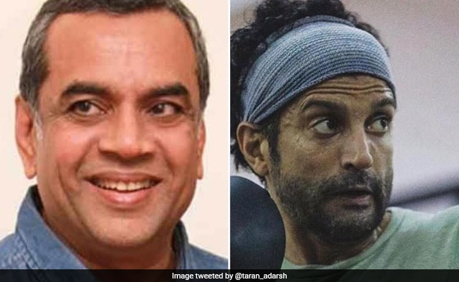 Toofan: Paresh Rawal To Play Farhan Akhtar's Coach In The Film