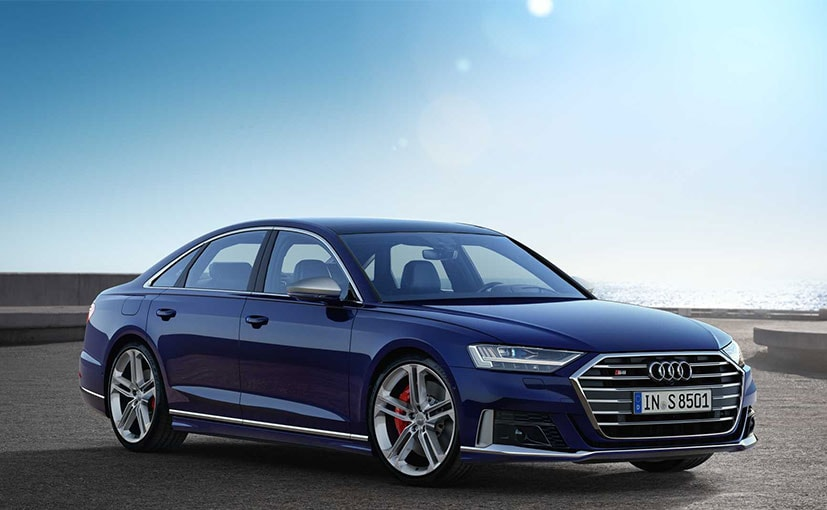 The Audi S8 is the performance oriented version of the A8 sedan.