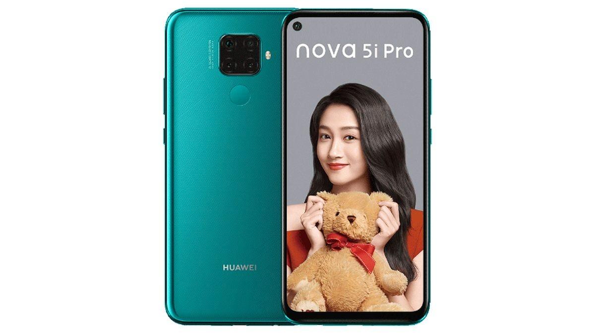Huawei Nova 5i Pro हुआ लॉन्च, किरिन 810 प्रोसेसर और चार रियर कैमरों से है लैस