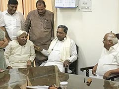 "Resignations ""Not In Order"", Says Karnataka Speaker. Coalition Exhales"