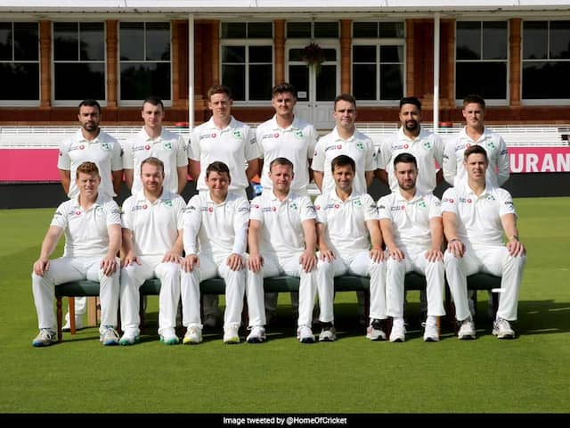 Irelands team ready to play historic Test at Lords against England team