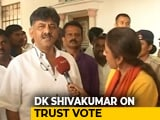"Video : ""It Will Be A Difficult Time For BS Yediyurappa"": DK Shivakumar To NDTV"