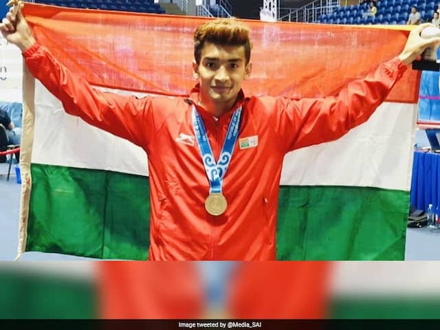 Boxer Shiva Thapa First Indian To Win Gold In Kazakhstan Presidents Cup
