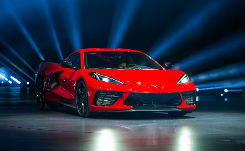 2020 Chevrolet Corvette Stingray Breaks Cover As A Mid-Engined Sports Car - CarandBike
