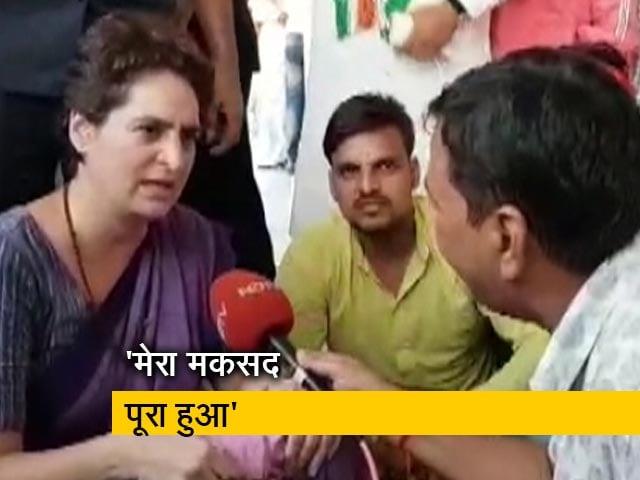 Videos : सोनभद्र हत्याकांड के पीड़ित परिवारों से मिलीं प्रियंका गांधी वाड्रा
