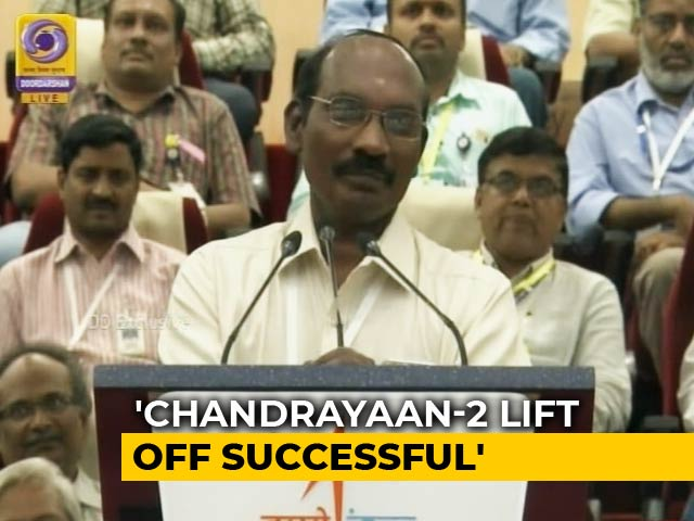 "Video : ""Bounced Back With Flying Colours"": ISRO On Chandrayaan 2 Launch"