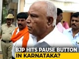 "Video : BJP Yet To Stake Claim In Karnataka, Says Waiting For RSS ""Blessings"""