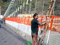 Bridge Replacing Lakshman Jhula In Rishikesh To Come Up Before 2021 Kumbh