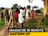 "Video : ""200 Men On 32 Tractors"": Eyewitness On How Village Head Killed 10 In UP"