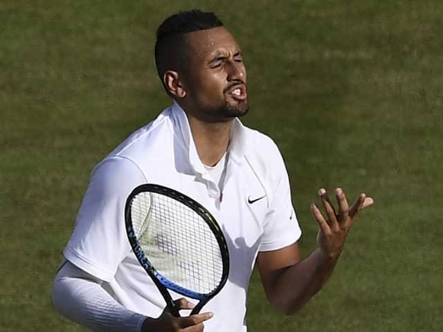 Watch: Nick Kyrgios Underarm Serve Leaves Rafael Nadal, Wimbledon Crowd Surprised