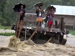 4 Lakh People, 749 Villages Affected As Heavy Rain Continues In Assam