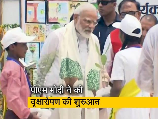 Videos : पीएम मोदी ने वृक्षारोपण कर पर्यावरण संरक्षण का दिया संदेश