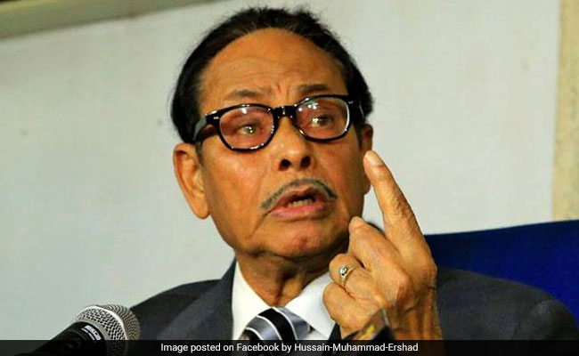 Former Bangladesh Military Dictator Muhammad Ershad Dies At 89