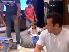 सलमान खान के भांजे ने लगाई ऐसी जंप हवा में उड़ गए मामा, देखें Video