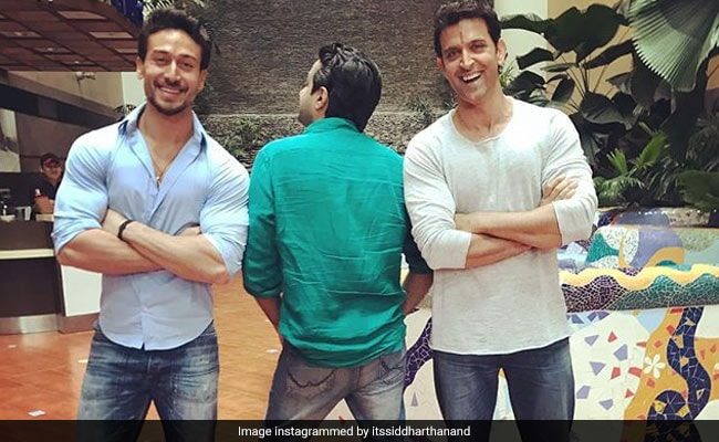 When Hrithik Roshan 'Looked After' Little Tiger On Sets Of Jackie Shroff's Film