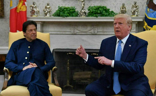 Peaceful Neighbourhood Pakistan's Priority, Imran Khan Tells Trump