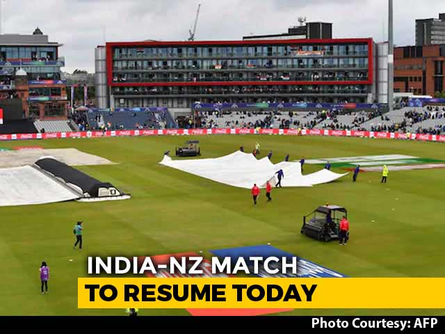 Video : India-NZ Semis: Intermittent Rain Forecast Ahead Of Play On Reserve Day