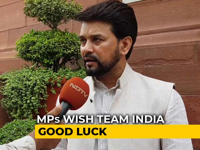 Video : Wishes From Parliament For Virat Kohli & Co For World Cup Semi-Final