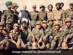 """""""Unforgettable"""": PM Shares Photos Of Kargil Visit In Tribute To Heroes"""