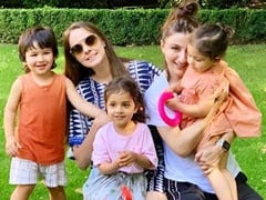 Taimur And Inaaya Twinning On A Play Date Is A Jumbo Pack Of Cuteness