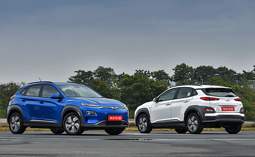 The Hyundai Kona is India's first ever fully electric SUV