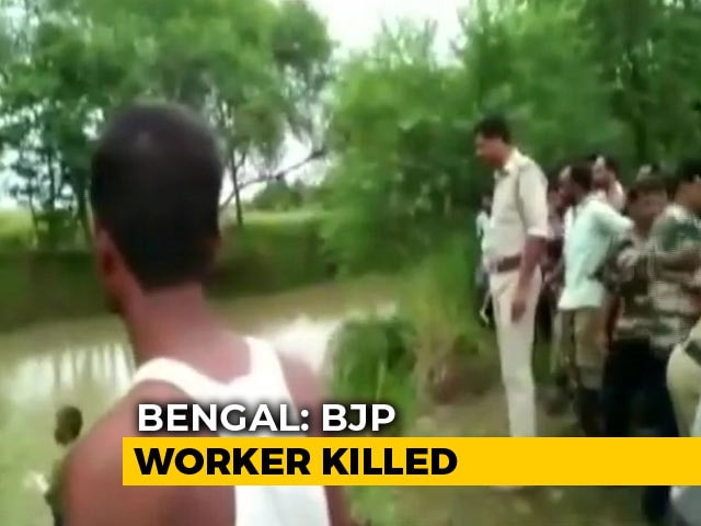 Video : BJP Alleges Trinamool Behind Death Of Its Worker In Bengal's Hooghly