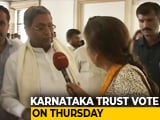 Video : Karnataka Coalition, Hit By Resignations, Faces Floor Test on Thursday