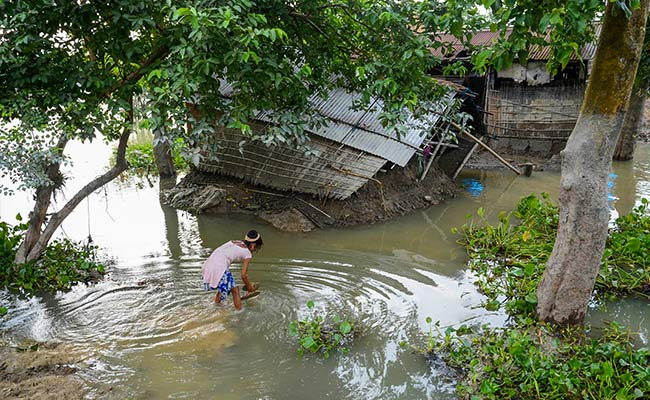 Death Count Due To Floods Rises To 110 In Assam