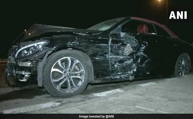 बिजनेसमैन के नाबालिग बेटे ने मर्सिडीज से दूसरी कार में मारी जोरदार टक्कर, CRPF जवान की मौत