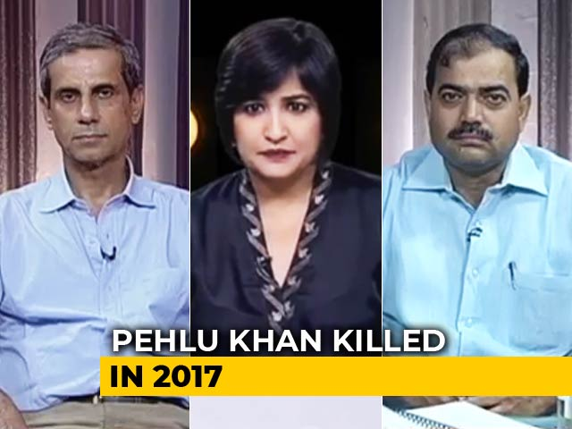 Video : Uproar Over Pehlu Khan's Name In Chargesheet