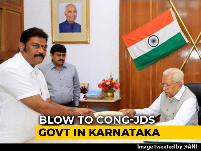 Video : Trouble For Karnataka Congress, 2 Lawmakers Quit, BJP Keeps Close Watch