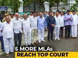 Video : Resignations On Hold, 5 More Karnataka Rebels Approach Top Court