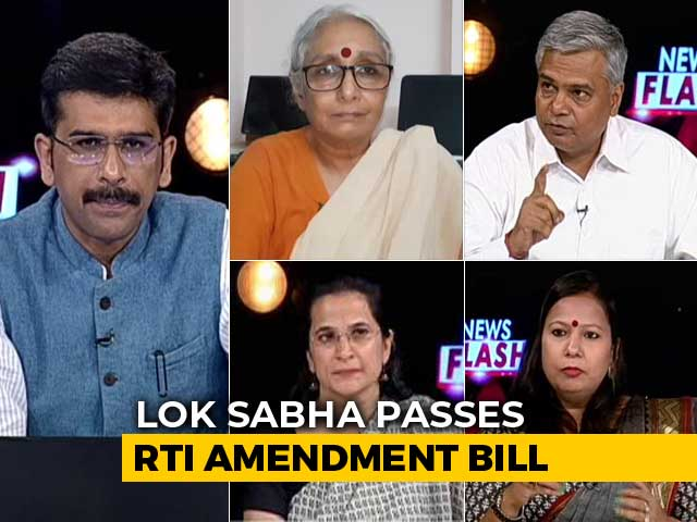 Video : RTI Act Amendment Bill: Landmark Transparency Law Diluted?