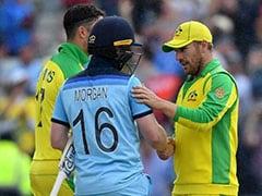 "Australia ""Outplayed"" By England In World Cup Semi-Final, Says Aaron Finch"