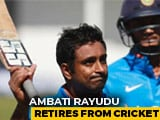 Video : Rayadu Retires (Hurt): Hasty Or Forced Decision?