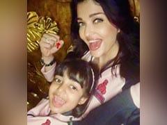 Aishwarya Rai Bachchan And Daughter Aaradhya Cheer For Abhishek's Kabaddi Team. See Pic