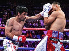 Brilliant Manny Pacquiao Downs Keith Thurman To Capture WBA Crown