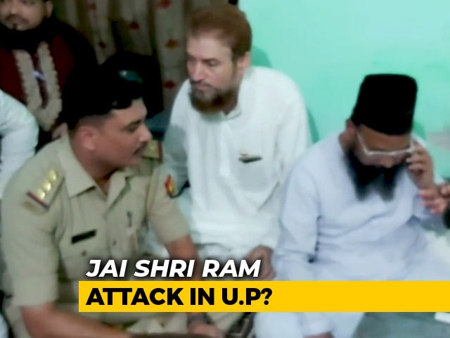 Video : In Unnao, Madrasa Students Allege Thrashing Over <i>Jai Shri Ram</i> Slogan