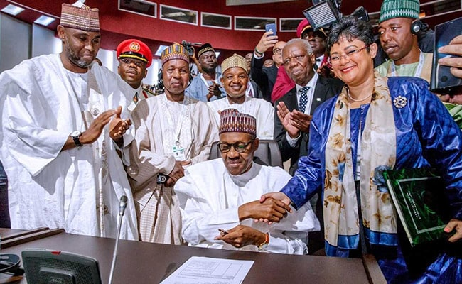 Nigeria will sign Africa free trade agreement - presidency