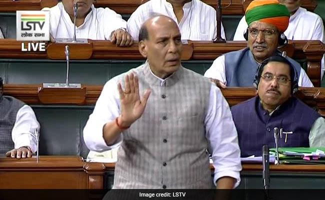 Parliament Live Updates: लोकसभा में बोले राजनाथ सिंह- पाकिस्तान के साथ कश्मीर पर ही नहीं, PoK पर भी बात होगी