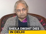 Video : Sheila Dikshit, Three-Time Delhi Chief Minister, Dies At 81
